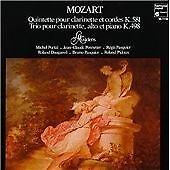 Wolfgang Amadeus Mozart - Mozart: Quintette pour clarinette et cordes K.581;...