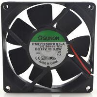 1PC fan for SUNON PMD1208PKB3-A 8cm 12V 3.2W