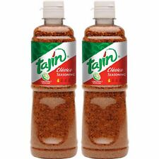 Pack of 2 Tajin Classic Fruit and Snack Seasoning Clasico 14oz Mexican Candy