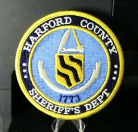 Patch Retired: Harford County (Maryland) Sheriff's Department Patch