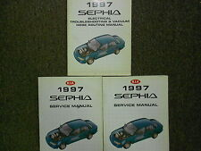1997 Kia Sephia Service Repair Shop Manual Set Factory OEM 97