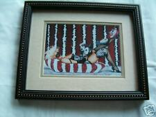 Pin-Up Art framed Picture 8X10
