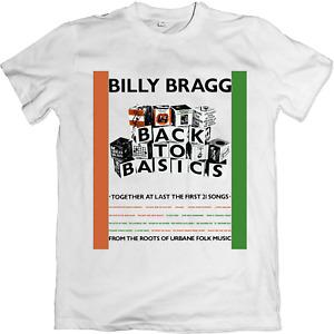 Billy Bragg T-shirt Back to Basics taxman workers playtime spy wilco vinyl cd W