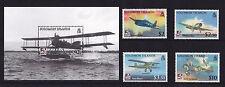 Solomon Islands - 2009 Naval Aviation - U/M - SG 1269-72 + MS1273