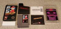 Wrecking Crew - Nintendo NES Video Game Five 5 Screw BLACK BOX Complete CIB Lot!