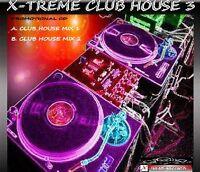 X-TREME CLUB HOUSE VOL.3 - 2008 DANCE DJ REMIX CD - *LISTEN*