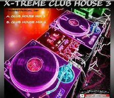 X-TREME CLUB HOUSE VOL.3 - 2008 DANCE DJ REMIX CD - *LISTEN*