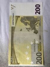 Billet 200 Euros Rare