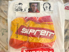 Brand New Supreme Warm Up Hockey Red Fw18 Stone Island Nocta Off-white 350v2 Tnf