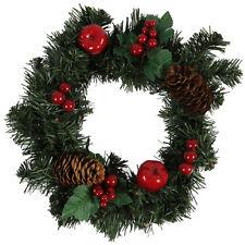 Türkranz Tischkranz Weihnachtskranz Adventskranz Kranz Tanne künstlich 25 Cm