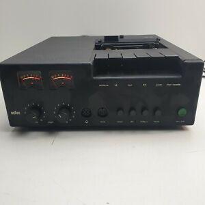 Braun TGC 450 Kassettendeck Cassetten Deck (DEFEKT)