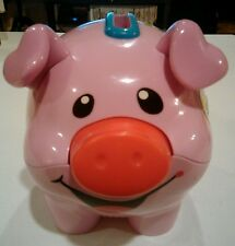 Tested / Working Fisher Price Laugh N Learn Piggy Bank