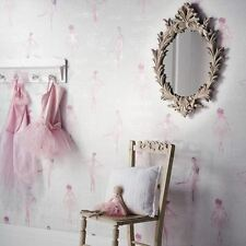 Piroetta Ballerini rotoli di carta da parati rosa-Arthouse 668200 Ballerina