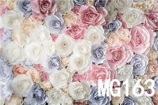 Rose Flower Vinyl Photography Backdrop Background Studio Prop 10X10FT MG163
