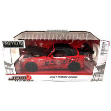 JADA 98570 JDM TUNERS 2001 HONDA S2000 1/24 DIECAST MODEL CAR RED