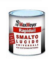 vernice SMALTO LUCIDO RAPIDOIL  PER ESTERNO/INTERNO BIANCO DA  0,750 Lt