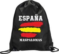 BACKPACK BAG MASPALOMAS SPAIN GYM HANDBAG FLAG SPORT