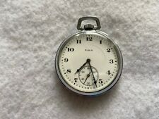 17 Jewels Elgin Mechanical Wind Up Vintage Pocket Watch