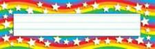 Classroom name plates - star rainbow - 36 pack