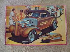 Vintage AMT 1937 Chevrolet Cabriolet The Original StoveBolt Gasser 3in1 T316-225