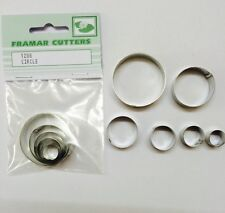 Cake Decorating Metal 120S Circle by Framar Cutters