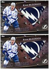 2X 18-19 RELIC MARATHON AWAY RYAN MCDONAGH Topps NHL Skate Digital Card
