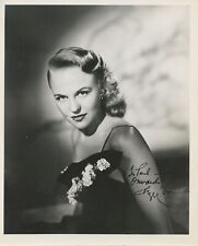 Peggy LEE (Jazz): Signed Photograph