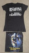 Battlefield Earth ~ L Ron Hubbard ~ Xsmall T-Shirt ~ Brand New
