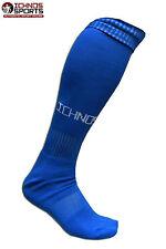 BNIB Ichnos royal blue rugby football soccer team player socks adult size