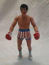 "7"" Neca Rocky Action Figure 2012 Post Fight"
