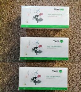 3 packs x Tiens Lipid Metabolic Management Tea, 30 bags (total 90 bags)