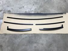87-93 Ford Mustang Exterior Front Window Trim Metal Surround RESTORED Cowl OEM