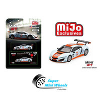 Mini GT Acura NSX GT3 Gulf Racing Livery Mijo Exclusive Limited 1:64【Pre-order】