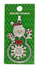 """Ganz Collectible Snowman Christmas Ornament """"Jesus is the"""" Great Gift, Pkg Decor"""