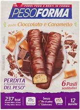 Pesoforma Barrette, 6 Pasti, Cioccolato Al Caramello