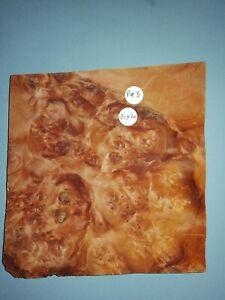 CONSECUTIVE SHEETS OF PURPLE HEART BURR VENEER 20 X 20 cm PH#3 MARQUETRY