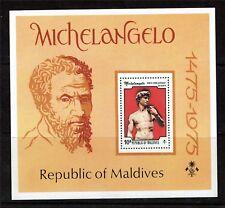 Maldive Is 1975 Michelangelo SG MS 612 MNH