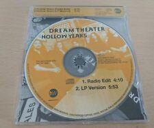 Dream Theater - 2 tracks promo single cd - Hollow Years