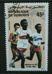 DJIBOUTI 1984 International Olympic Committee. Set of 1. Fine USED/CTO. SG928.