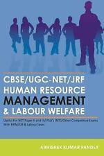 Cbse/Ugc-Net/Jrf Human Resource Management & Labour Welfare : Useful for Net...