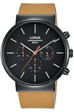 Reloj Hombre LORUS CLASSIC MAN RT379GX9 de Cuero Marrón