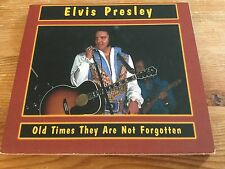 Elvis Presley cd - Old times they are not forgotten - fold out digipak set
