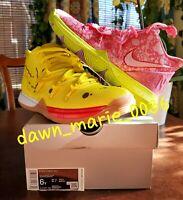 Kyrie 5 SPONGEBOB PATRICK STAR SBSP 6Y (GS) CJ7227-600/700 Pink Yellow ☆VNDS☆