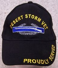 Embroidered Baseball Cap Military Veteran Desert Storm NEW 1 hat size fits all