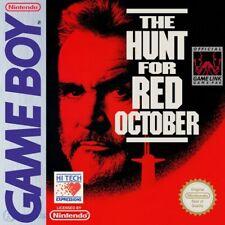 GameBoy Spiel - Jagd auf roter Oktober / The Hunt for Red October Modul mit Anl.