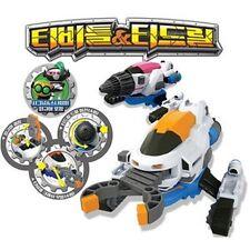 ACADEMY T-DRILL & T-BEETLE Transformer Robot / Toy / Children's Toy