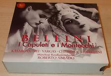 BELLINI-I CAPULETI E I MONTECCHI-3xCD 1998-ABBADO-EVA MEI/VARGAS/KASAROVA-MINT