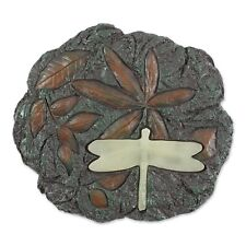 New listing Glow in the Dark Dragonfly Stunning Stepping Stone Path Light Garden Sculpture