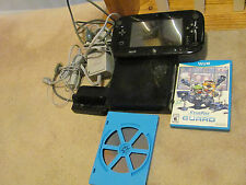 32GB Wii U Console - BLACK Bundle WITH GAMES