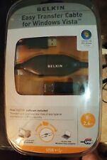 NEW Belkin Easy Transfer Cable for Windows standard USB to USB transfer cable